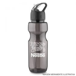 squeeze plastico ice bar 700ml preto 3440 logo